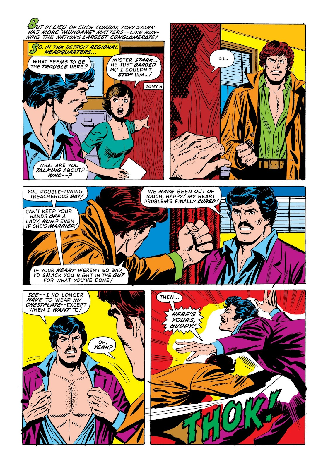 Read online Marvel Masterworks: The Invincible Iron Man comic -  Issue # TPB 9 (Part 3) - 22