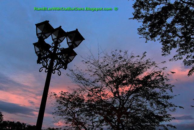 Lamppost, Rizal Park, Manila, Philippines