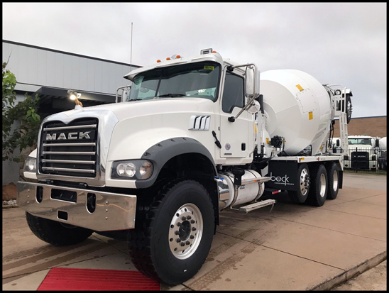 Mack Trucks donated a 2019 Mack® Granite® model to the Concrete Industry Management (CIM) Auction, which will be Wednesday, Jan. 23 during World of Concrete 2019