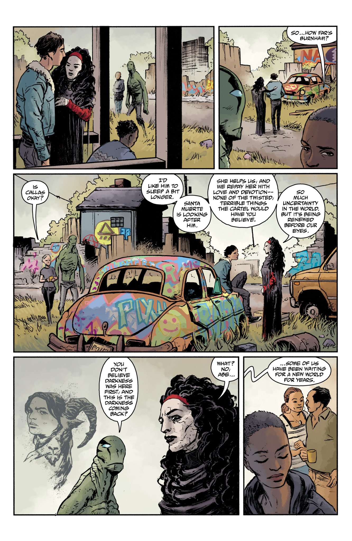 Read online Abe Sapien comic -  Issue #17 - 16
