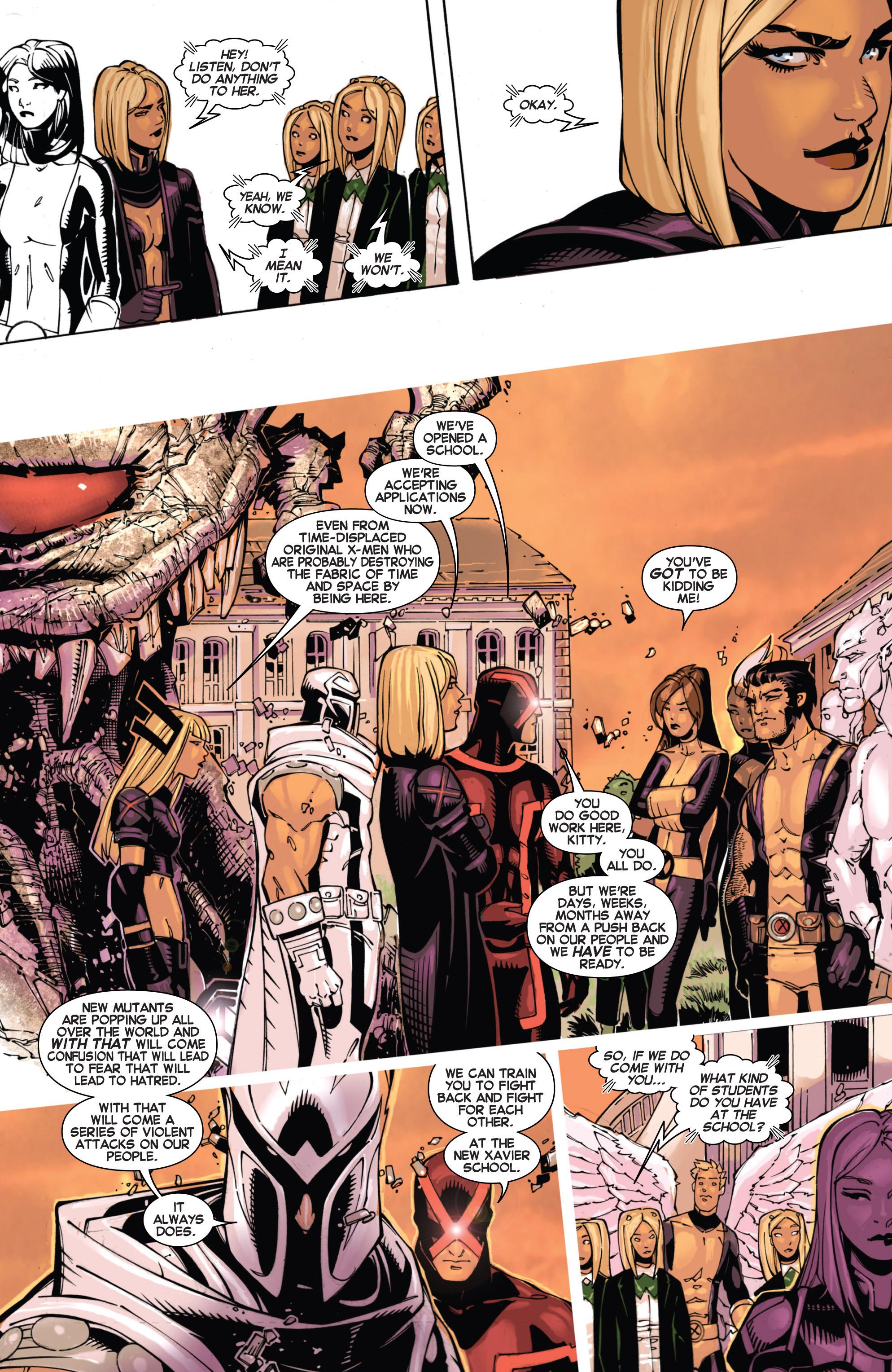 Read online Uncanny X-Men (2013) comic -  Issue #4 - 11