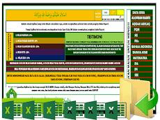Aplikasi Raport Khusus MI ( Madrasah Ibtidaiyah ) Format Excel