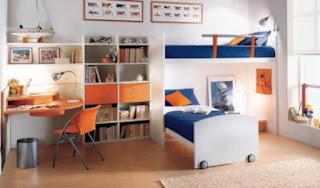 kamar tidur anak perempuan mewah
