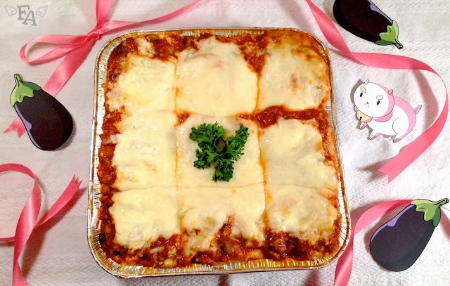 Bee and Puppycat lasagna