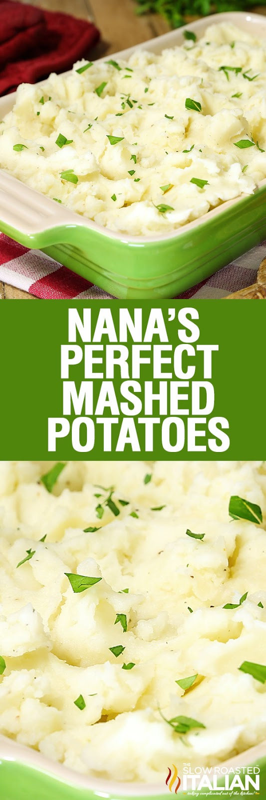 Perfect Everyday Mashed Potatoes are perfectly buttery and creamy with the ideal texture and flavor with a special ingredient added to give a little something extra. The perfect side dish that is easy enough to make any night of the week and delicious enough for a special occasion. With make-ahead instructions, these are the ultimate weekday mashed potatoes!