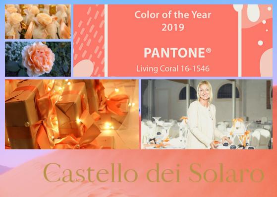 Come usare il colore del 2019, il Corallo, nel matrimonio?