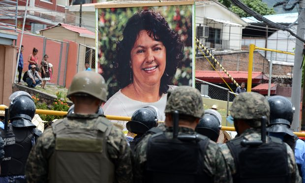 Berta Cáceres court papers show murder suspects' links to US-trained elite troops