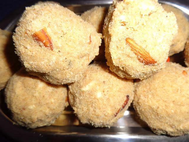 Gond ( Tragacanth gum ) Laddu
