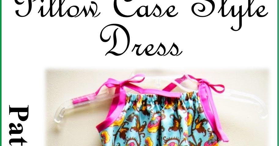 Simply Shoeboxes Pillow Case Style Dress Instructions