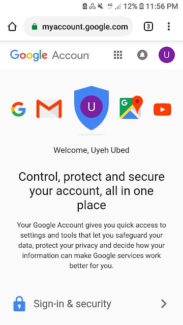 Control, protect, secure your gmail