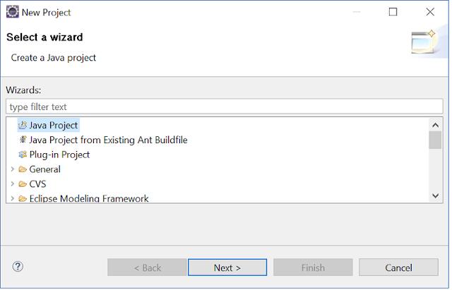 Java program Eclipse