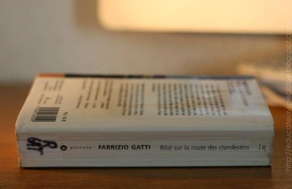 Tranche livre Bilal sur la route des clandestins, Fabrizio Gatti