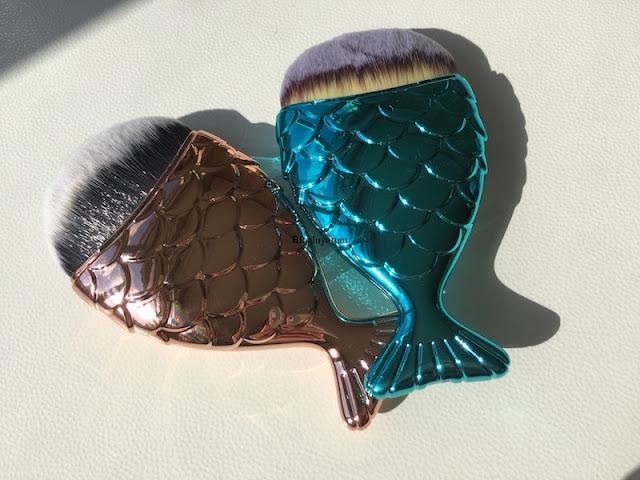 tosave alışverişi fish brush balık fırça mermaid brush 2