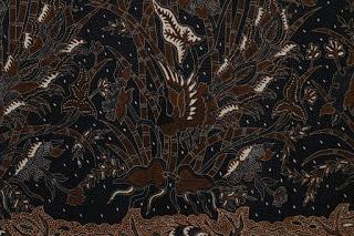 Batik laweyan motif pring-pringan