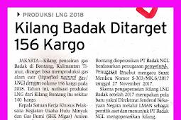 Badak Refinery Targeted 156 Cargo