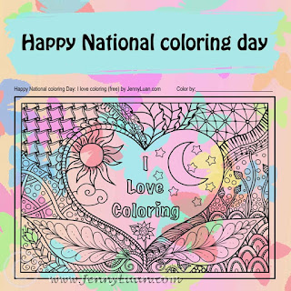 happy national coloring day 2016