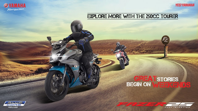 Yamaha India Lancarkan Yamaha Fazer 25 Harga Bermula Dari RM8,548