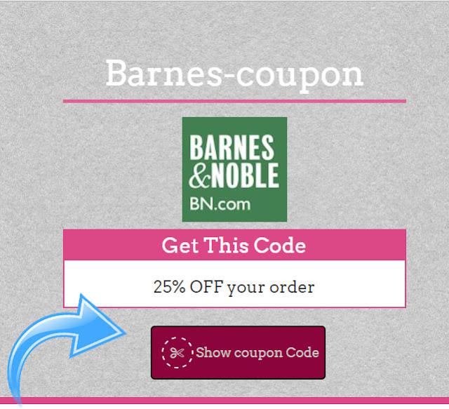 Barnes  35% Coupon Code May 2017