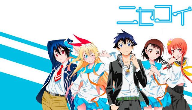 Nisekoi - Daftar Anime Romance School Terbaik Sepanjang Masa