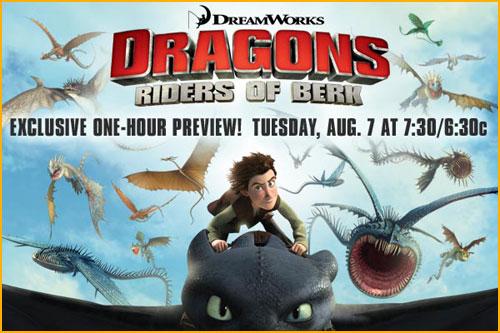Poster for Dragons: Riders of Berk 2012 animatedfilmreviews.blogspot.com