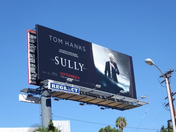 Sully movie billboard