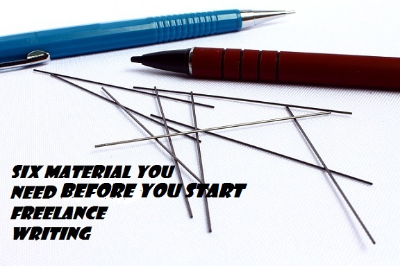 Materials You Need Before You Start Freelance Writing