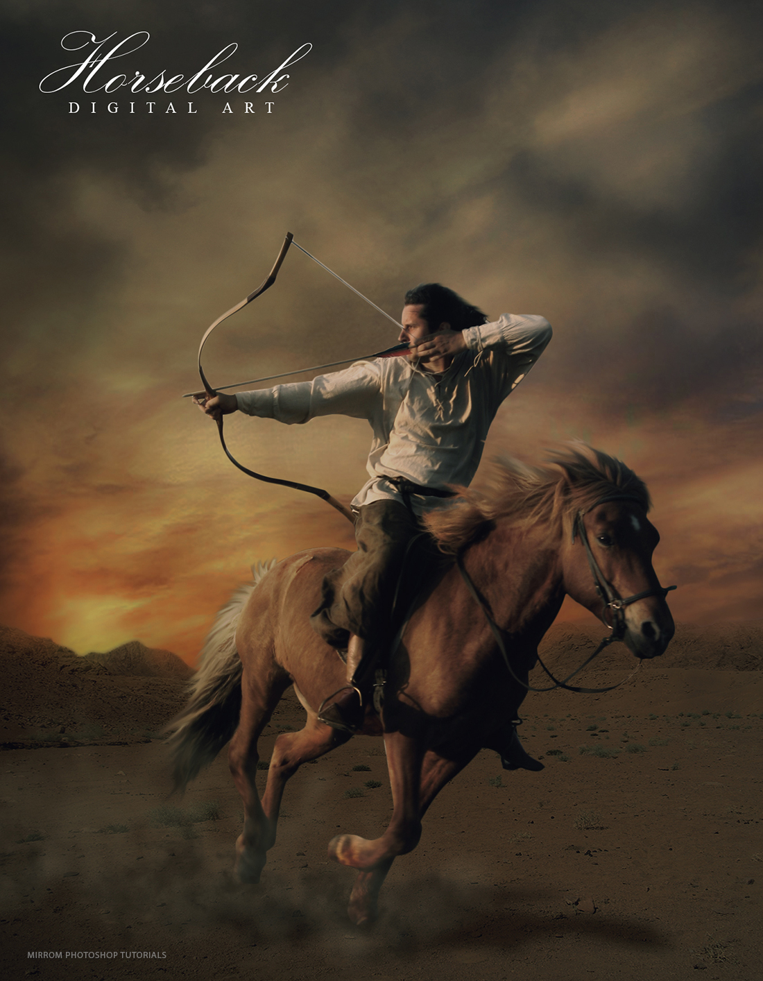 Create A Horseback Digital Art Photo Manipulation In Photoshop