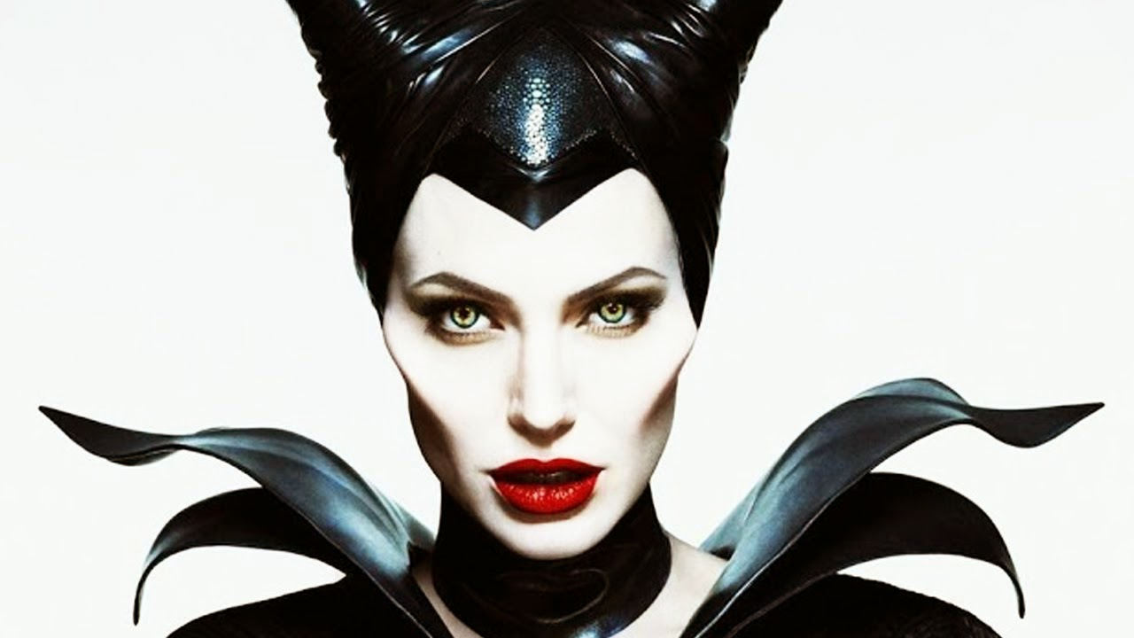 Angelina Jolie's Wicked Look in Maleficent