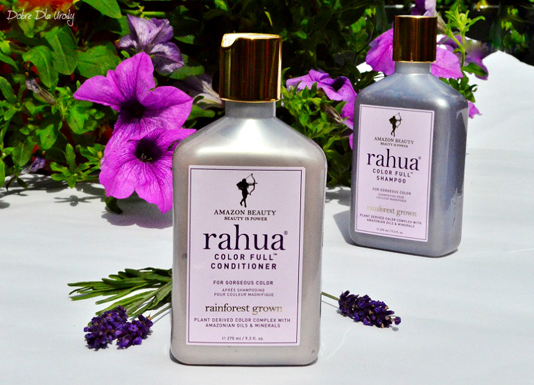 Rahua Color Full - Organiczny szampon i Naturalna odżywka do włosów farbowanych