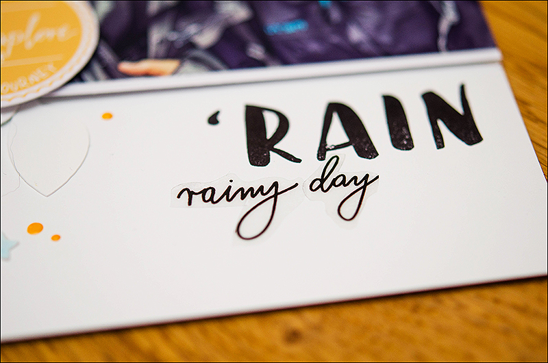 Stephanie Berger - Scrapbooking - Studio40 - Rain
