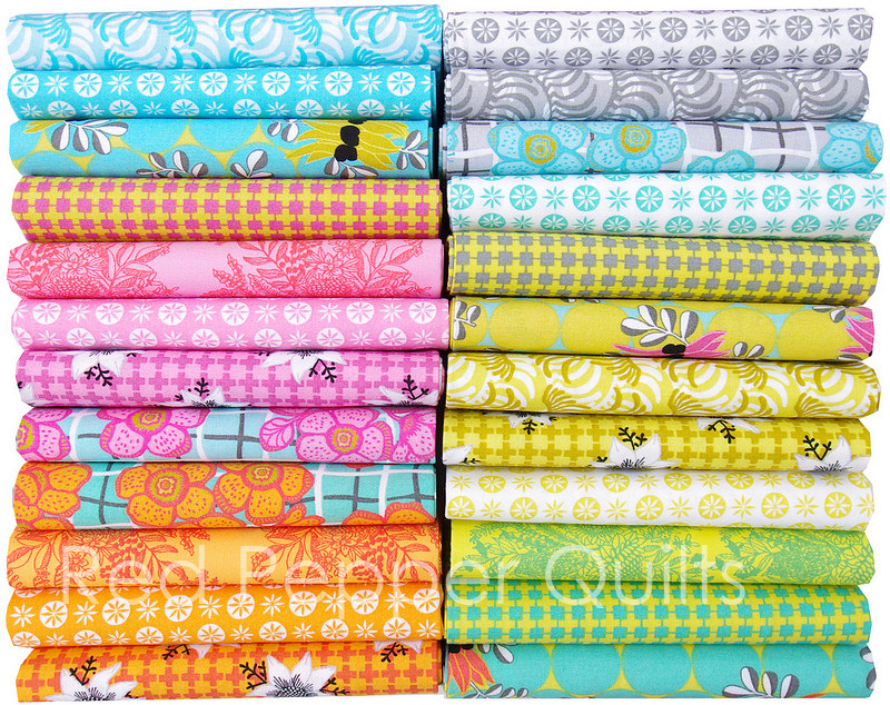 Matilda by Emma Jean Jansen for Ella Blue Fabrics   © Red Pepper Quilts 2016