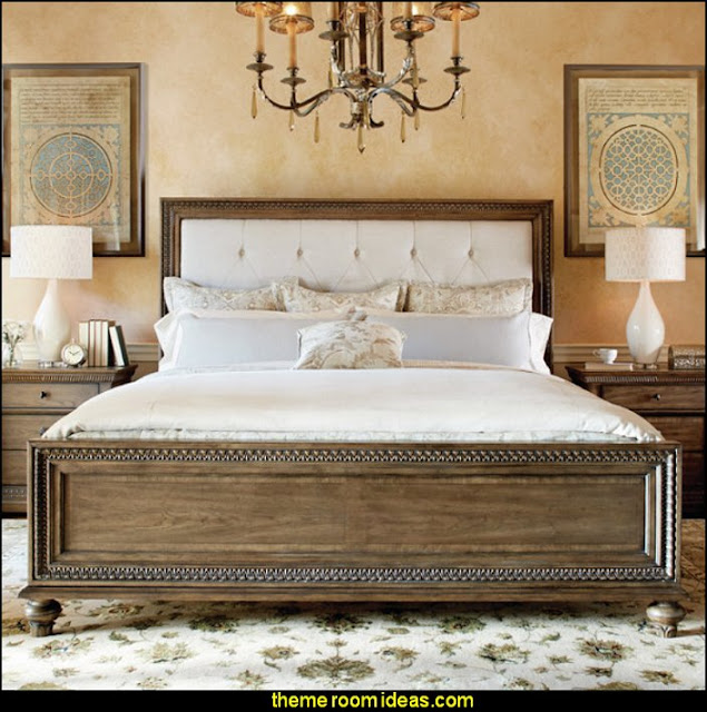 Rena Upholstered Bed   bedroom decorating - bedroom furniture - bedding - bedroom decor - master bedroom designs