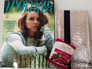 Revista Woman pocket con regalo de la cartera poète