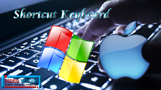 Shortcut Default Keyboard Komputer Untuk Windows dan Mac