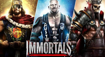 WWE Immortals Apk + Data for Android latest version