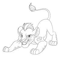משמר האריות לצביעה