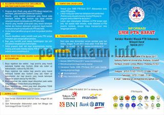Informasi Umum SMM PTN-BARAT 2017