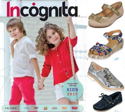 zapatos de niños Incognita Kids 2017