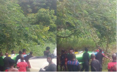 (PHOTOS)Total shock as man is buried in a 'Star beer bottle' in Ghana