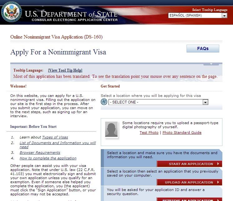 Una Vez Rellenado El Formulario Mencionado Es Necesario Pagar Las Tasas Mrv De Us Para El Caso De La Visa De No Inmigrante B B Para Turismo