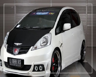 modifikasi honda jazz 2007