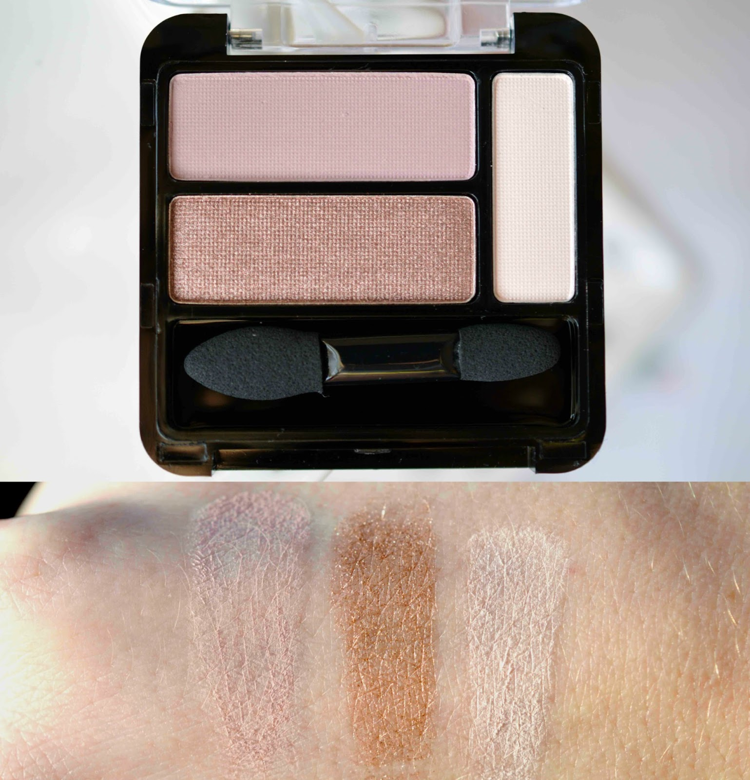 essence smoky rose eye palette
