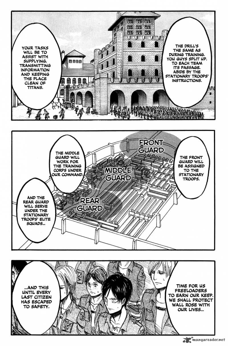 Shingeki no Kyojin Ch 4: Their First Battle