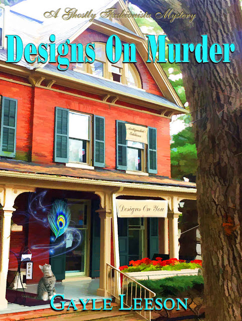 Designs On Murder (Ghostly Fashionista Mystery Book 1) by Gayle Leeson