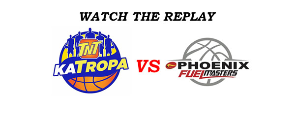List of Replay Videos TNT vs Phoenix @ Ynares Center September 24, 2016