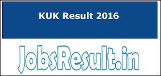 KUK Result 2016