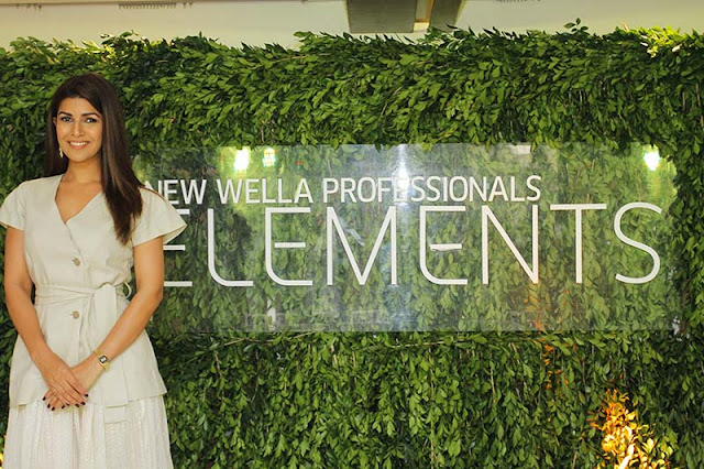 Nimrat Kaur Wella Professionals Elements Range