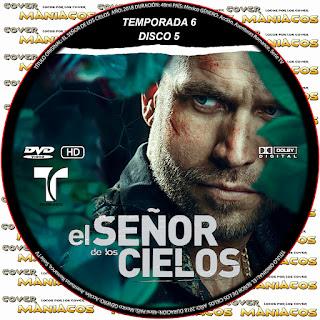 GALLETA [SERIE TV] EL SEÑOR DE LOS CIELOS TEMPORADA 6 [COVER DVD]