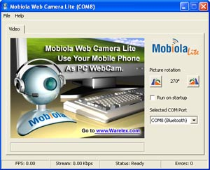 Free Download Software: MOBIOLA WEB CAM FULL VERSION