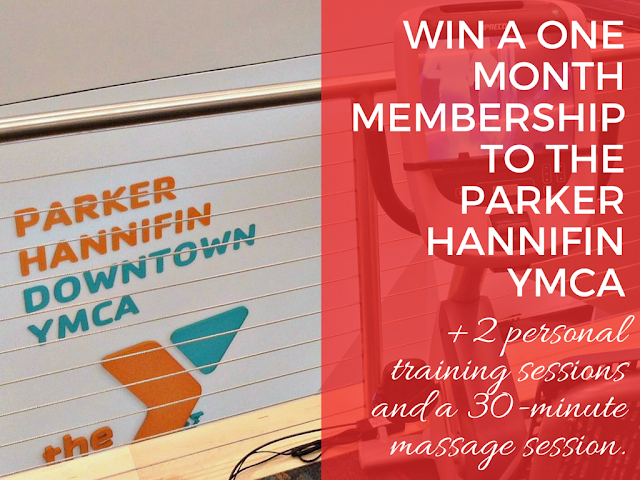 Enter to win a free month at the Parker Hannifin YMCA